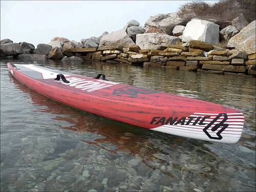 "жесткий SUP борд Жесткая SUP доска Fanatic Falcon Carbon Flatwater 14'0"" (24"") 2015. Фото N4"